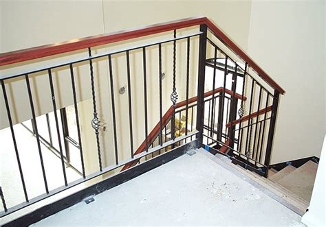 Wrought Iron Balustrade Wrought Iron Balustrade In Perth Majestic Staircases