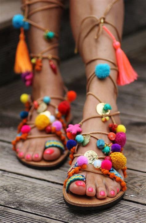 Sandal Bohemian 8 bohemian shoes for 2018 become chic