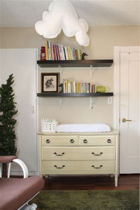 Shelves Above Changing Table Nursery Pinterest Changing Table Shelves