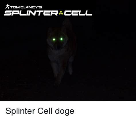 Splinter Cell Meme - tom clancy s splinter cell doge meme on me me