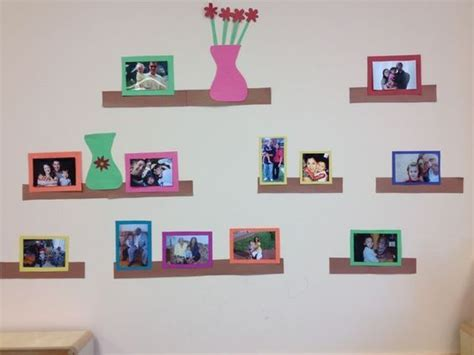 displaying family pictures displaying family pictures in preschool classroom