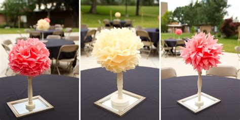 Centerpieces for Weddings on a Budget   Wedding and Bridal