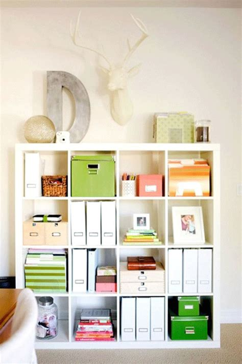 bookshelf organization 43 cool and thoughtful home office storage ideas digsdigs