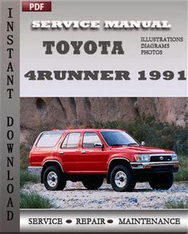 motor auto repair manual 1999 toyota 4runner navigation system toyota 4runner 1991 digital workshop service repair manual servicerepairmanualebook