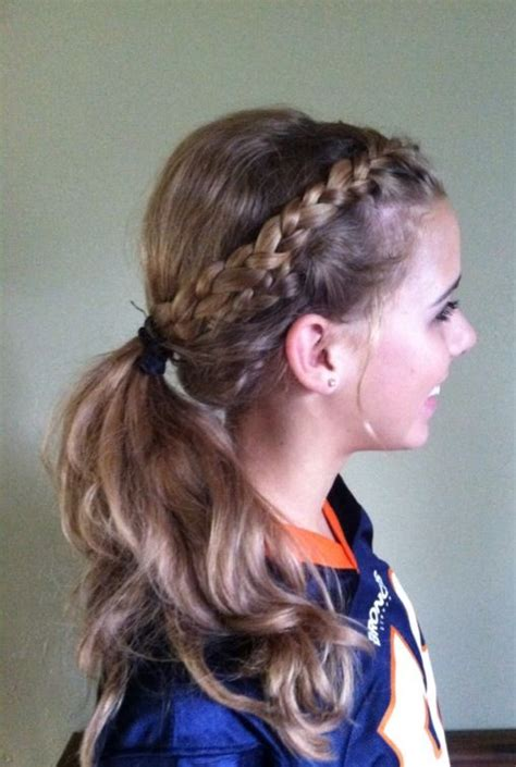 nice hairdos for soccer game 137 best images about softball on pinterest softball
