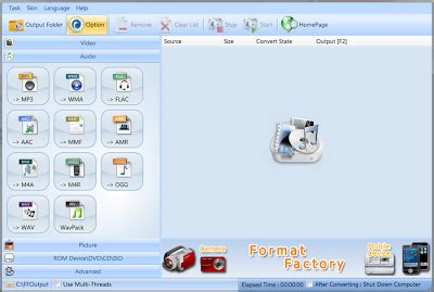 format gambar audio video download format factory 3 2 1 terbaru audio video
