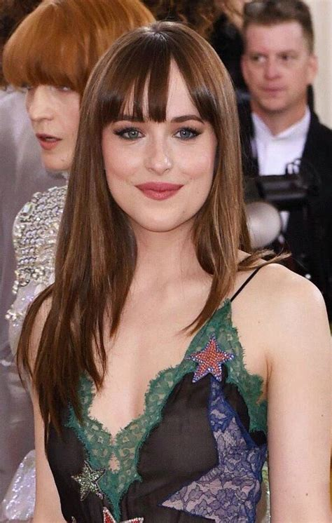 dakota johnson bangs are called what 5 celebrity bangs to inspire your next look glam radar