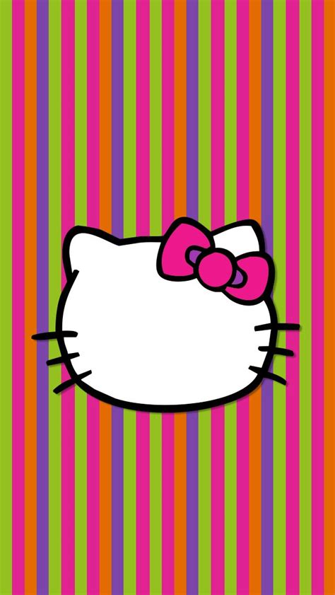 wallpaper hello kitty warna pink iphone wallpaper tjn iphone walls 2 pinterest