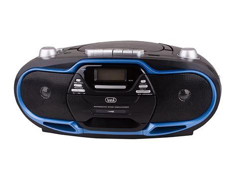 radio cd cassette stereo trevi cd radio am fm mp3 lettore cassette player