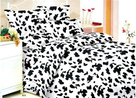 Cow Duvet Cover Cow Print Duvet Covers Fitted Sheets Queen Double King Bed