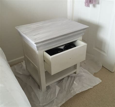 chalk paint upcycled furniture how to upcycle a bedside table with chalk paint and new