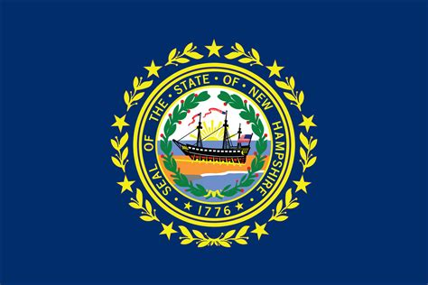 NEW HAMPSHIRE STATE FLAG   Liberty Flag & Banner Inc.