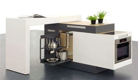 compact kitchen island clever compact kitchen for small apartments