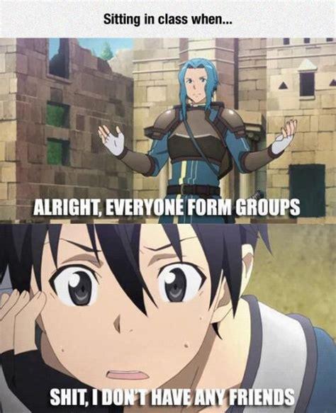 Online Class Meme - image 900192 sword art online know your meme