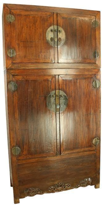 Asian Armoires Large Antique Chinese Armoire Cabinet Wardrobe Dragons