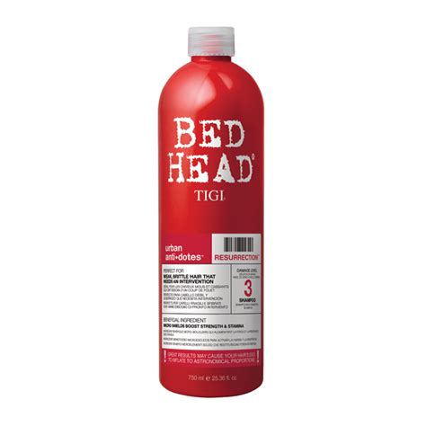 tigi bed head urban antidotes resurrection shoo 750ml