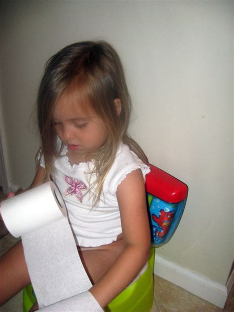 toddler girl potty training potty training success all in her timing