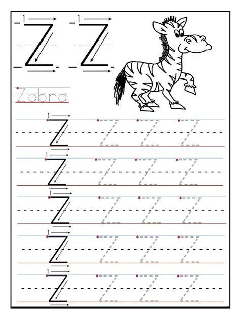 printable letter z worksheets uppercase letter z worksheet for preschool preschool crafts
