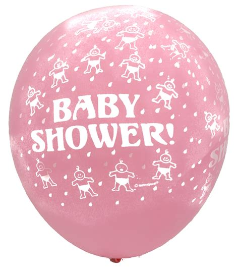 baby shower balloons baby shower baby pink balloons 6ct