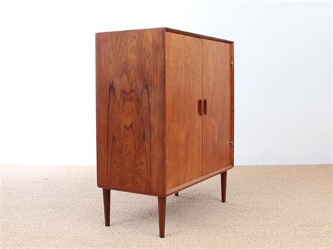 mid century modern teak cabinet by ejvind a johansson