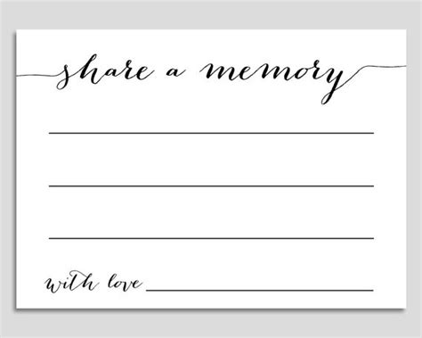 free memory card template memory card template 28 images bridal shower ideas a