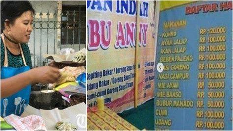warung makan  viral  patok harga selangit