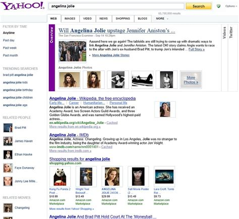 yahoo design guidelines yahoo launch new design and interface for its search