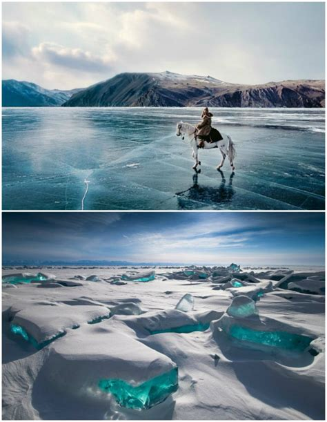 How Big Is 25 Square Meters by Lake Baikal In Siberia Russia