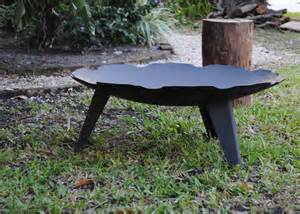 Welded Fire Pit by Old Iron Miami Responsible Designs Built To Last