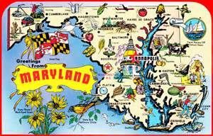 usa map maryland state image gallery large map of maryland