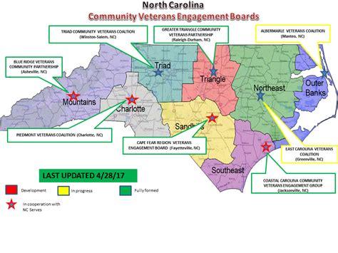 map eastern carolina myva community east carolina veterans coalition