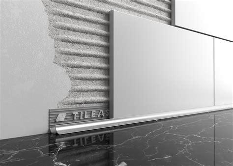 Subway Backsplash Tiles Kitchen by Metal Worktop Tile Trim Tileasy