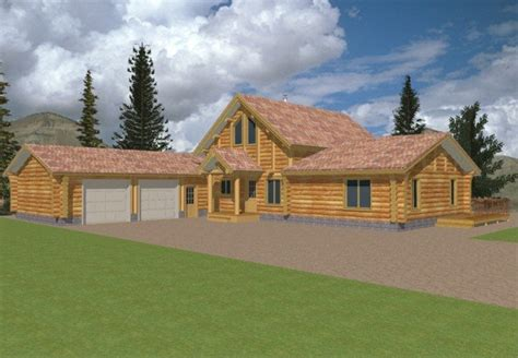 log home floor plans with garage log cabin house plan alp 04y9 chatham design