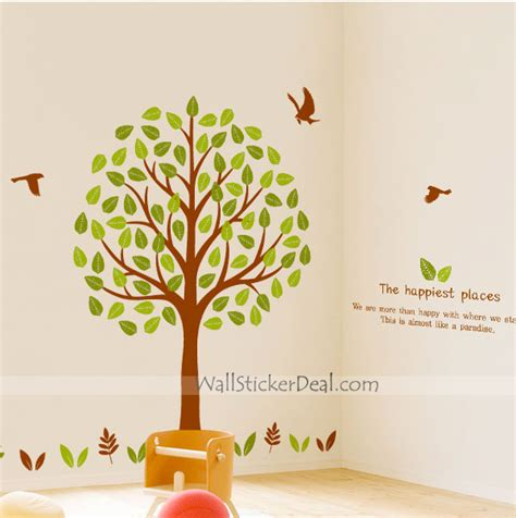 how to make wall sticker tree wall stickers make decorating easy wallstickerdeal