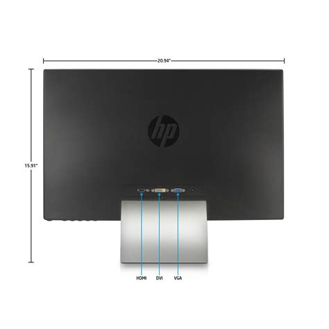 Monitor Hp Pavilion 23es hp pavilion 23xi 23 inch screen led lit