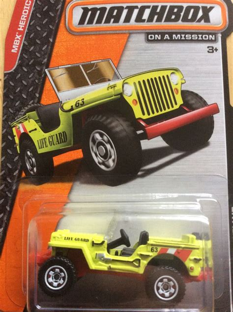 matchbox jeep willys 43 jeep willys toy car die cast and wheels