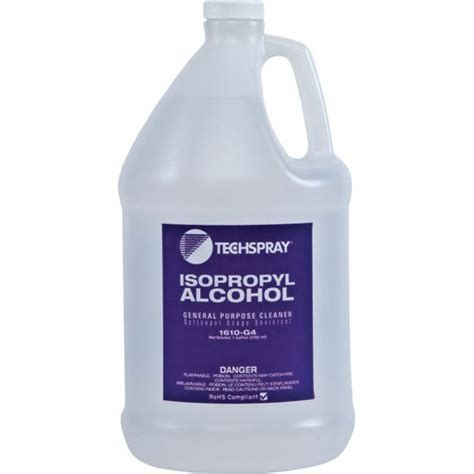 Ozone Cleaning Kit Ipa by Techspray 1610 G4 Isopropyl 99 8 1 Gallon