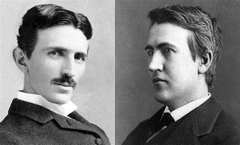 an interactive biography of thomas edison and nikola tesla who was a better inventor tesla or edison popgi