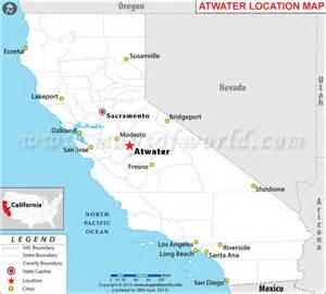 where is atwater california