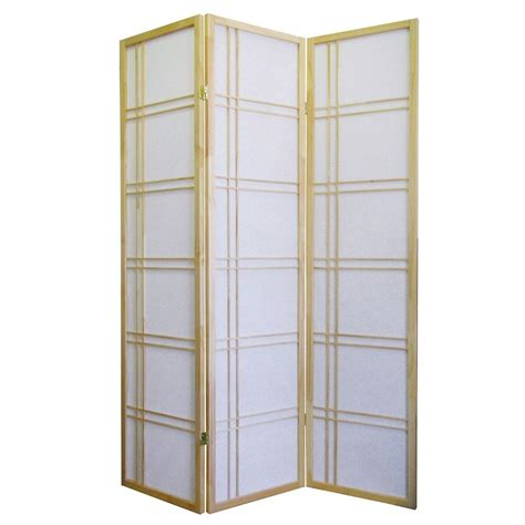 room dividers home depot home decorators collection girard 5 83 ft 3 panel room divider r542na the home depot
