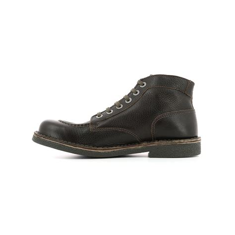 Boots Brown Kickers kickers kickstoner brown boots bottines