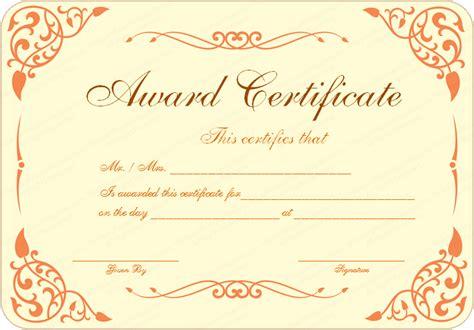 15 Formal Certificate Templates   Certificate Templates