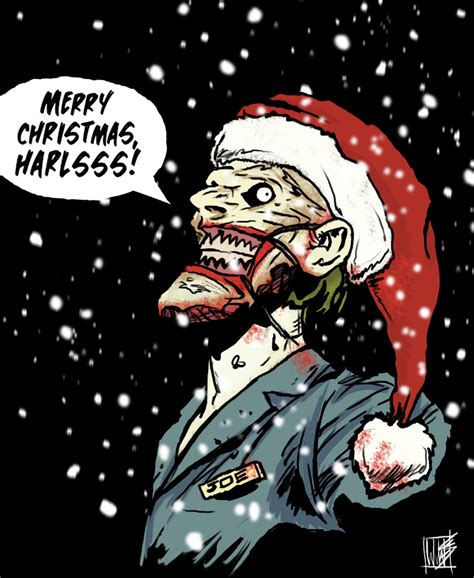 christmas joker wallpaper merry christmas from the new 52 joker by novembermilk on
