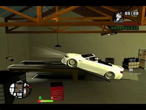 Gta Sa Car Garage Mod by Gta Sa Enterable Tuning Garage