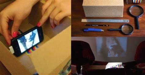 Proyektor Kardus membuat handphone proyektor biayanya bahkan hir quot gratis quot bambangchezkatkj