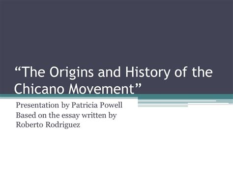 Chicano Movement Essay by Chicano Movement Essay Enriqueta Vasquez And The Chicano Movement Writings From El Grito Phantom