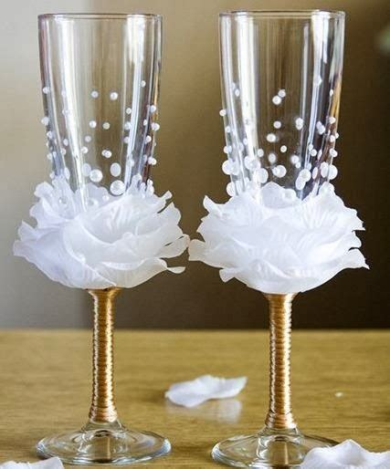 decoracion copas boda decora tus copas para boda foro manualidades para bodas
