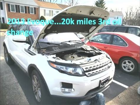 chagne range rover range rover evoque engine motor change how to