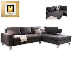 sofa eckgarnitur eckgarnitur anthrazit mit funktion ecksofas l form