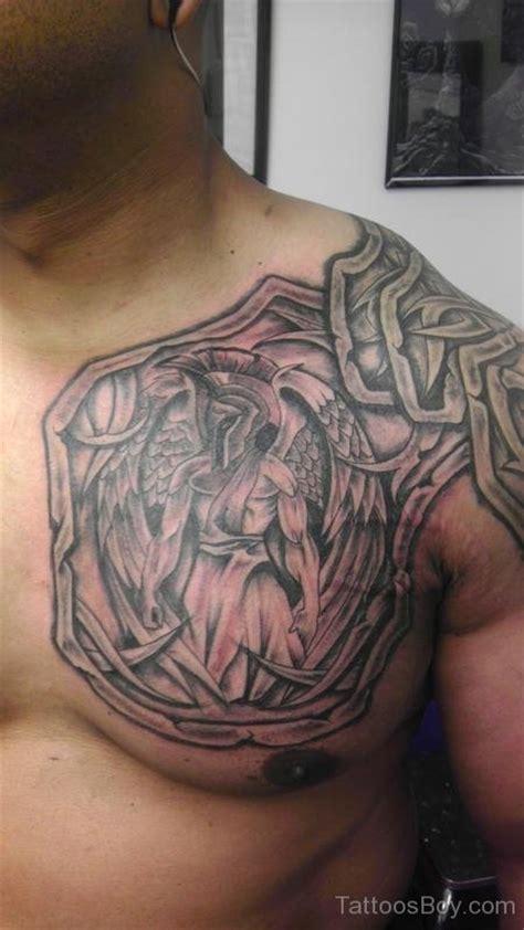 tattoo chest shield armor tattoos tattoo designs tattoo pictures